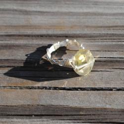 Chunky Pedra Ring /// Citrine